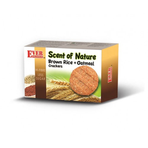 Hi-Fibre Brown Rice +  Oatmeal Crackers