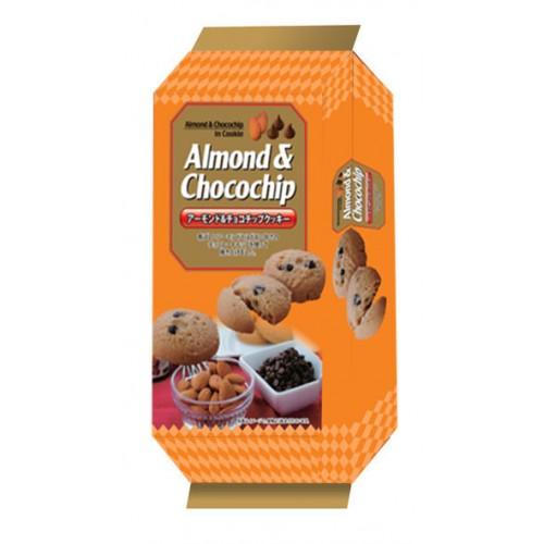 100g Japan Almond & Chocochip Cookies